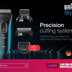 [Braun] The Braun Shave & Style 3010BT has everything you need to maintain your look, whether you prefer to be scruffy or