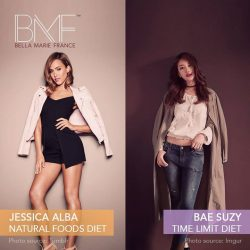 [Marie France Bodyline] Envy Jessica Alba and Bae Suzy's svelte figures?