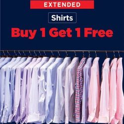 [T. M. Lewin] Shirts @ BUY 1 GET 1 FREE Don't miss it!