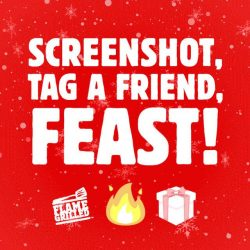 [Burger King Singapore] This Christmas, let our Flame- Grilled Gift of Fire make your holidays jollier!