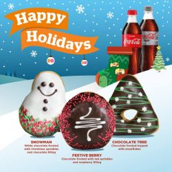 [Dunkin' Donuts Singapore] This Christmas, why not gift the great taste of Dunkin'?