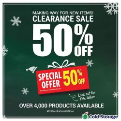 [Cold Storage] Shop at Cold Storage today to save a whopping 50% on more than 4000 items!