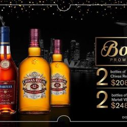 [Cue Guru] Bring on the merriment for this festive season with our bottle promotion!