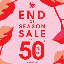 "[Jelly Bunny] Jelly Bunny End of Season Sale Up to 50%""  at Jelly Bunny Stores, Vivocity and Plaza"