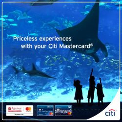 [Citibank ATM] From now till 31 Jan 2018, simply tap & go™ with your Citi Mastercard and you could be rewarded with a