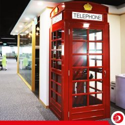[OCBC ATM] What's a London phone booth doing in our new innovation space, Carpe Diem?