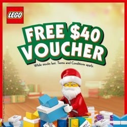 [Bricks World (LEGO Exclusive)] FREE $40 Voucher when you spend S$250 or more in LEGO® Certified Stores (Bricks World).