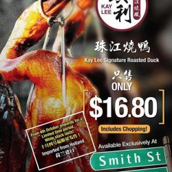 [Kay Lee Roast Meat Joint] Hi folks, countdown 1 more day - our $16.