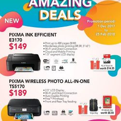 [Newstead Technologies] Great Deals from Canon!