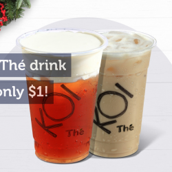 [KOI Café Singapore] Hurry to our stores, they're back again!