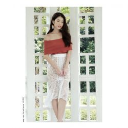 [MDSCollections] Online best sellers, sale items | Mermaid Lace Skirt in Ivory