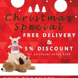 [Miniso] Share the Joy with our Christmas Special Deal 😍For bulk purchases above $500, you get to enjoy: 🚚 Free Delivery & 💰 5%