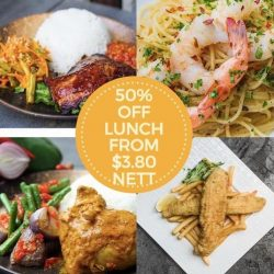 [OSG Bar+] OSG - Our Simple Goodness LUNCH DEAL 50% OFF your favorite nasipadang Bar + our ALL DAY DINING MENU !