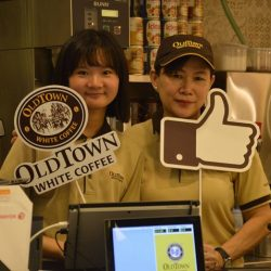 [OLDTOWN White Coffee Singapore] Happy faces, tasty treats!