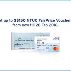 [Citibank ATM] Limited time offer!