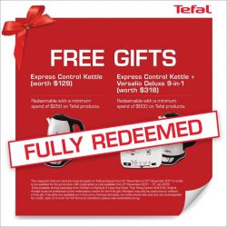 [Tefal] Thank you everyone for your support!
