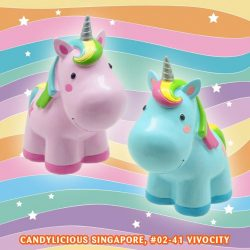 [Candylicious] Our new Candylicious Unicorn Coin Bank is your solution to encourage your child to start savings!