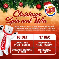 [Burger King Singapore] Stand a chance to win $20 BK Vouchers!