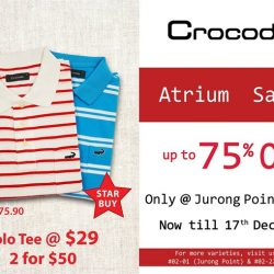 [Crocodile] Have you shopped for Christmas?