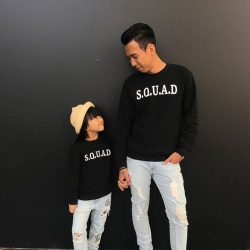[Fox Fashion Singapore] Something about dads and daughters twinning their outfits just makes us go awwww!