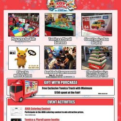 [Isetan] Tomica is back with their Christmas Festival!