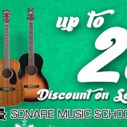[Sonare Music School] It's never too late to start learning an instrument.
