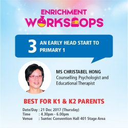 [POPULAR Bookstore] Seize the opportunity to prepare for your child's new school year with an array of enrichment workshops available at