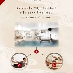 [Yunomori Onsen and Spa] Rejuvenate with 😘💓 <> at Yunomori this Winter Solstice Festival with🎁Onsen + Massage Combo Deals!