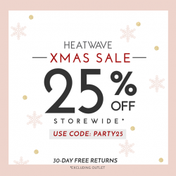 [Heatwave] In the spirit of Christmas, here's a little something from us at Heatwave!