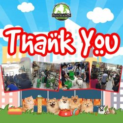 [Pets' Station] Thank you for all your support and make our warehouse sales a stunning success.