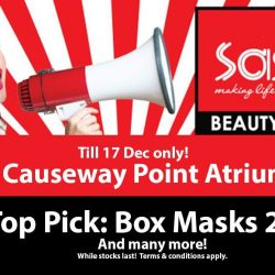 [Sasa Singapore] Grab your last chance at Sasa Beauty Fair, Causeway Point!