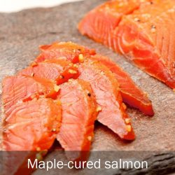 [THE SEAFOOD MARKET PLACE BY SONG FISH] Maple-cured salmonWe at Song Fish wish all a Jolly Merry Christmas!