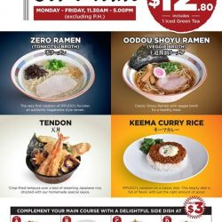 [Ippudo Express] LUNCH SET BELOW $15 IN ORCHARDSave your dollars for shopping and dine at IPPUDO Shaw Centre with set lunches
