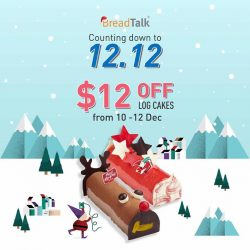 [BreadTalk® Singapore] From 10 to 12 December, join us as we mark 12.