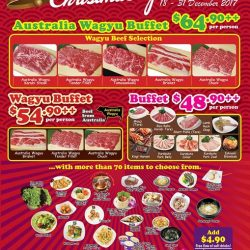"[Gyu-Kaku] Gyu-Kaku OneKM Outlet ""X'mas Special Buffet"" is still on until 31st of Dec!"