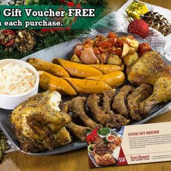[Tony Roma's] Tony Roma's Gift Vouchers are ideal for the holidays whether you're looking for a corporate or personal gift