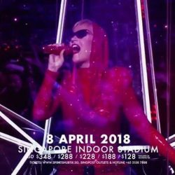 [American Express] BUY NOW: Amex presale tickets* to Katy Perry WITNESS: The Tour 2018 Singapore on 8 April 2018 are now available