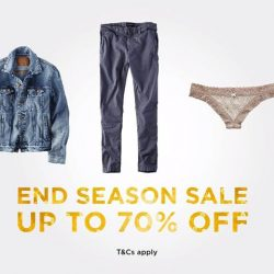 [American Eagle Outfitters] Just when you thought our sale couldn't get any better, IT DID!