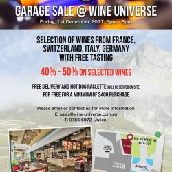 [Wine Universe Restaurant & Wine Bar] TODAY'S THE DAY!