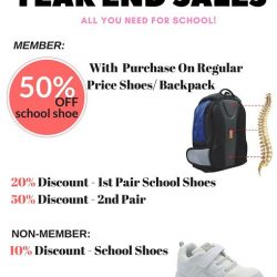 [Dr Kong] Get prepared for the new term with our collection of school shoes and Spine pressure-free bags !