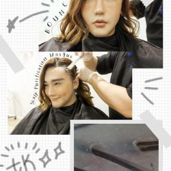 """[TrichoKare] Blogger Yutaki James had his first experience with us and was extremely impressed: """"JUST with one treatment, my scalp is"""