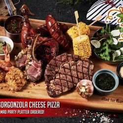 [Mad for Garlic] Let's celebrate the holiday season with our new Mad Party Platter ($88++) that is ideal for sharing.