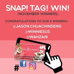 [Sufood] Congratulations to our November winners!