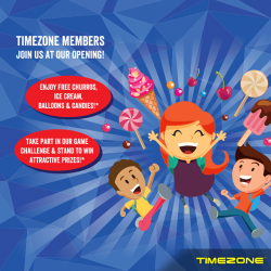 [Timezone] Our latest outlet at Parkway Parade is NOW OPEN!