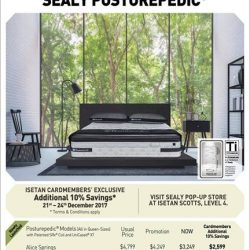 [Sealy Singapore] Feel rejuvenated every morning with a Sealy Posturepedic!