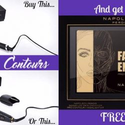 "[Cosmo Hair & Beauty] CURVES & CONTOURS - Buy a GHD Curve or Crimper and receive a free Napoleon ""Face Engineer"" highlighting and contouring palette (valued"