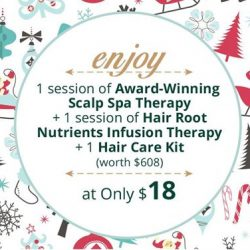 [Oriental Hair Solution] Christmas is just two days away!
