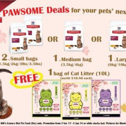 [Pet Lovers Centre Singapore] Have you done your Christmas shopping for your pets?