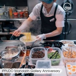 [Ippudo Express] IPPUDO MANDARIN GALLERY ANNIVERSARY​ ​ IPPUDO celebrates the 8th anniversary of its first-ever outlet in Singapore!