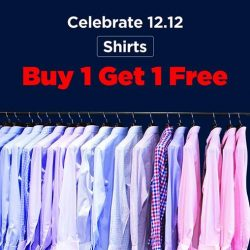 [T. M. Lewin] Shirts @ BUY 1 GET 1 FREE For a limited period only T&C apply.